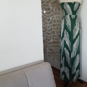 Green BCBG maxi sundress